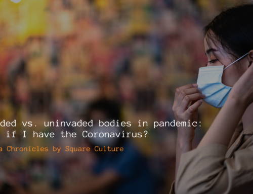Invaded vs Uninvaded Bodies in Pandemic: What if I have coronavirus?