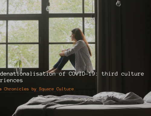 The denationalisation of COVID-19: third culture experiences